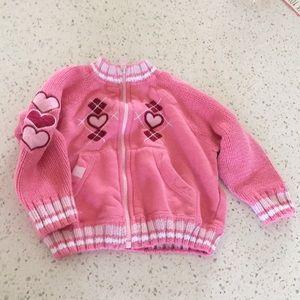 b.u.m. Pink Sweater